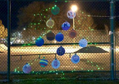 Skate Park Fence Tree