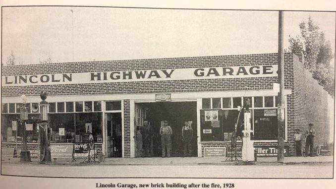 Cleveland Avenue was once part of the Lincoln Highway? Downtown Wellington, the teenage years…