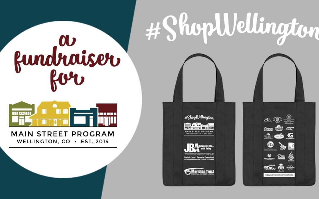 #ShopWellington Fundraiser Raises Money for Downtown Sign Grant